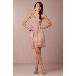 BHLDN Yoana Baraschi Rose Pink Dress, Size 12